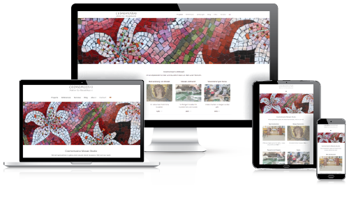 Cosmomusivo responsive website